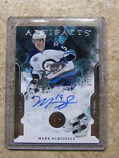 11-12 UD Artifacts Autographed Rookie RC MARK SCHEIFELE #VI  /99