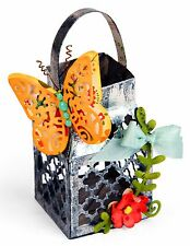 Sizzix Thinlits Butterfly Lantern set #661093 Retail $19.99 9-pk Lori Whitlock