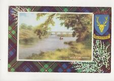 Bridge Of Don Aberdeen Mackenzie Tartan [A1026] Art Colour Postcard 306b