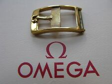 Omega Vintage Gold Plated 10mm Buckle - Very Rare & Desirable