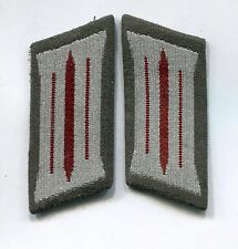 East German DDR Stasi Ministry State Security Lower Rank Collar Tab Board Police