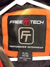 Free Tech Performance Outerwear XL 46-48 parka camouflage shell 100% polyester