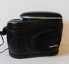 BLACK & DECKER Thermo Electric Travel Car Cooler Freezer & Warmer w/ Adaptor