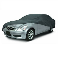 Classic Accessories Overdrive Polypro 3 Charcoal Full Size Sedan Car Cover NEW