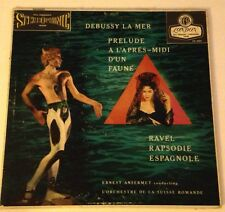 Ernest Ansermet LP Debussy Ravel  London Blue Back