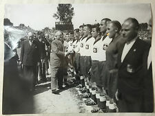 photo press football  Coupe de France 1949 Lille    504