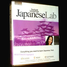 Immersion JAPANESE  NEW Learn to Speak INSTANT Language Complete cd's with book