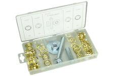 Ösen Set 103-tlg. Ösenpresse zum Pressen Öse Ösenstanze Ösenschrauben Werkzeug 1