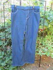 Women's Jeans White Stag Size 12-14 Petite Woman Stretch Dark denim