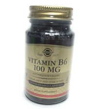 Solgar Vitamin B6 100mg - 100 vegetable capsules