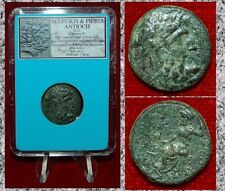 Ancient Coin SELEUKIS AND PIERIA ANTIOCH Zeus On Obverse Beautiful Coin!