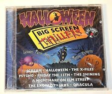 Halloween Big Screen Thrillers Music from Motion Pictures CD New