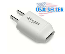 AMAZON USB AC WALL POWER ADAPTER CHARGER 5V 1A