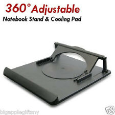 360 Degree Rotation Laptop Notebook Cooling Cooler Holder for Laptop up to 15.4""
