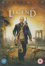 I AM LEGEND - Will Smith, Alice Braga, Dash Mihok. Dir by Francis Lawrence (DVD)