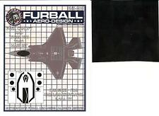 Furball Decals 1/48 LOCKHEED F-35A LIGHTNING Canopy & Wheel Hub Vinyl Mask Set