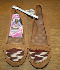 REEF BELLA COSTA WINTER DRIFT MOCASSINS 8173 WOMENS SIZE 9.5 NWT FREE SHIPPING