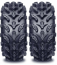 Pair 2 Interco Swamp Lite 25x8-12 ATV Tire Set 25x8x12 SwampLite 25-8-12