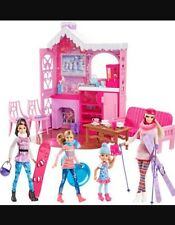 New In Box Barbie Winter Family Build Up Mattel New In Hand Fast Ship Playset