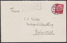 DR Mi Nr. 519 EF auf Brief mit Posthilfsst. Kämpen über Witten - Berlin 1935