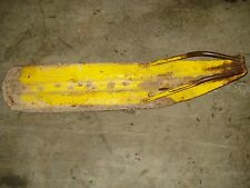 1970 Skidoo Alpine 399 R Bombardier Front Mono Single Steering Ski Runner