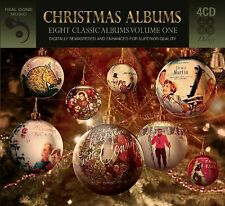 Eight (8) Classic Christmas Albums Vol. 2 VARIOUS ARTISTS Best Of MUSIC New 4 CD