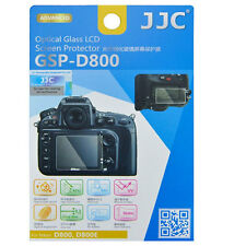 JJC GSP-D800 Optical GLASS LCD Screen Protector Film for Nikon D800 D800E 9H