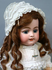 "Smiling 719 Simon & Halbig Character Child Antique Doll 18"" Mint condition"