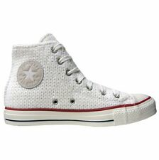 CONVERSE ALL STAR CHUCKS EU 38 UK 5,5 WINTER WEIß KNIT GESTRICKT LIMITED EDITION