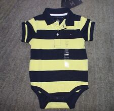 Tommy Hilfiger Baby Boys Short Sleeve One-Piece - Size 18 Months - NWT