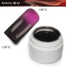 UV Thermogel 24 Darknude-pink metallic 5ml/ Nagelgel Colorgel Thermo-Gel Farbgel