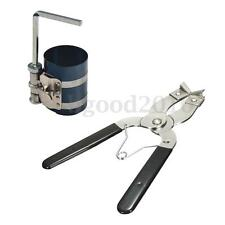 Piston Ring Compressor Installer Ratchet Plier Remover Expander Engine Pull Tool