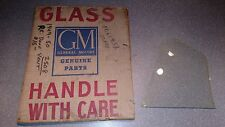 GM 1949 -1950 Pontiac Front Door Vent Window Glass NOS Part # 4560940 chipped