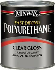NEW MINWAX 23000 1/2 PT CLEAR GLOSS OIL BASED FAST DRY POLYURETHANE 7995764