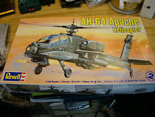 Revell 1/48 AH-64 Apache Helicopter Model Kit - #85-5443