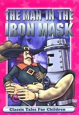 Classic Tales For Children - The Man In The Iron Mask (DVD, 2007) WORLD SHIP AVA