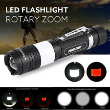 G700 X800 Tactical Zoom 5000LM XM-L T6 LED Military Flashlight Torch Light Lamp