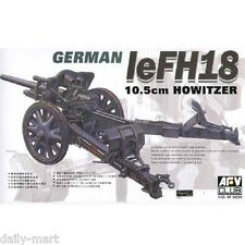 AFV Club 1/35 AF35050 leFH18 Howitzer German 105mm Cannon Model Kit