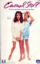 Casual Sex (1988) VHS CIC  Lea Thompson Victoria Jackson