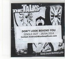 (FB325) The Talks, Don't Look Behind You - 2014 DJ CD