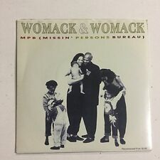 Womack And Womack MPB (Missing Persons Bureau) EXc  1988 Single