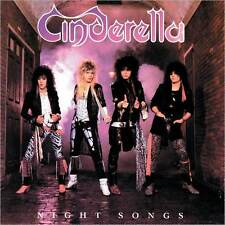 CINDERELLA : NIGHT SONGS (CD) Sealed