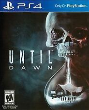 UNTIL DAWN FOR PS4 PLAYSTATION 4 BRAND NEW IN WRAPPER NO RESERVE