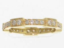 NEW ring in 18k solid gold including 0.63 carat of diamonds.