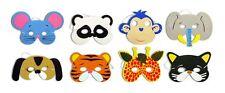 5 x Bambini Spugna Animal Maschere Sacchetto Festa Articolo Giocattoli