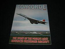 """CONCORDE """"The  Story Of The Advanced Passenger Aircraft"""" 1975 Magazine"""