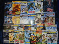 * 31 ACTION COMMANDO STORY BOOKS by D C THOMSON * UK POST £3.25* PAPERBACKS*