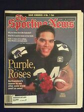 December 11 1995 The Sporting News  Darnell Autry  Northwestern Wildcats