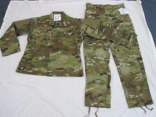 NEW SCORPION US ARMY ISSUE MULTICAM UNIFORM SHIRT & PANT SET SMALL LONG