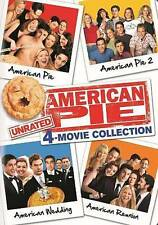 American Pie Unrated 4 Movie Collection Four Disc DVD Set Free Shipping